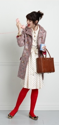 Not that I have anything against Kate Spade, other than the fact that I can't afford this outfit!